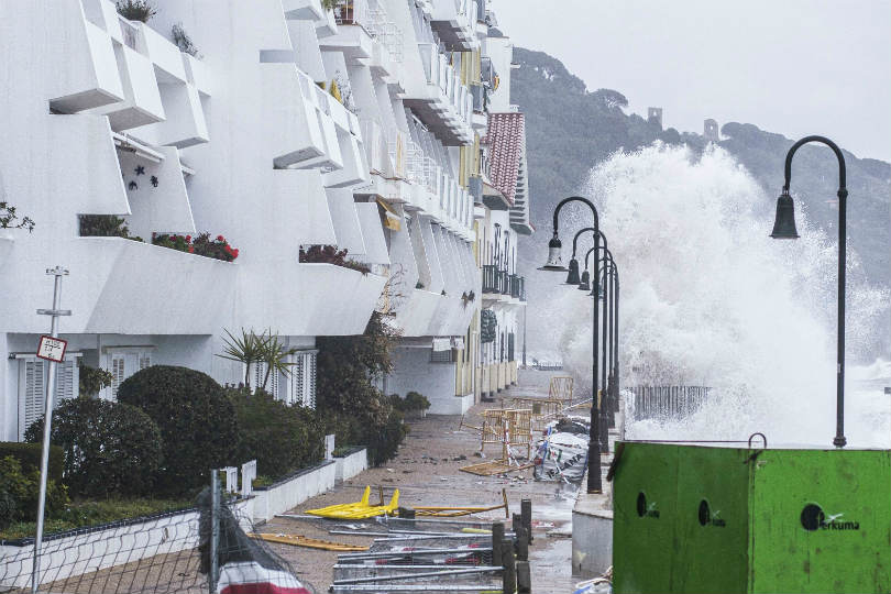Warning issued as Storm Gloria batters Spain