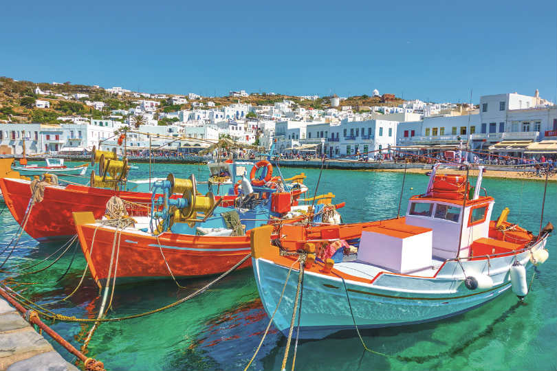 Greece could open up more quickly to source markets that inoculate their populations more quickly