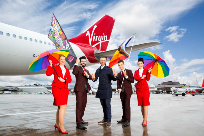Virgin to be headline sponsor for Manchester Pride