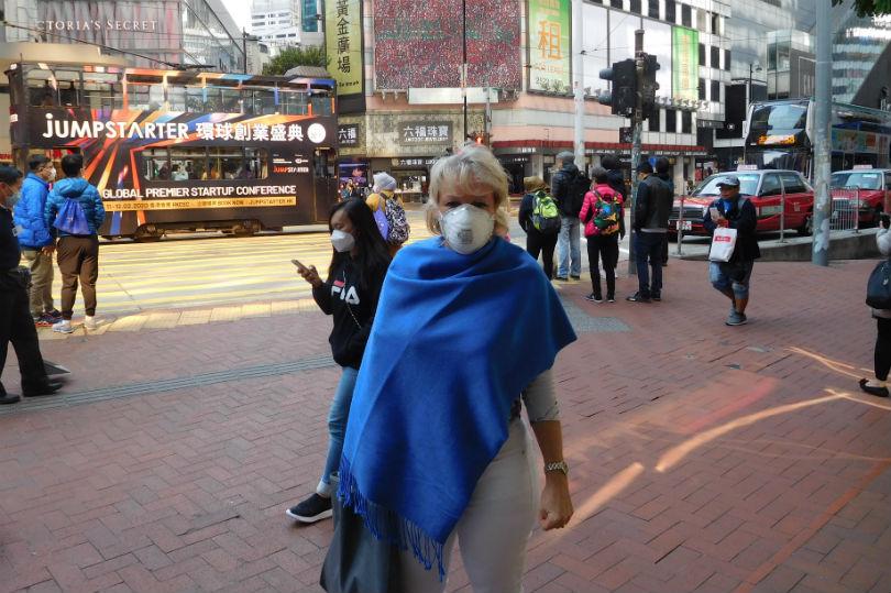 Sara Macefield in Hong Kong