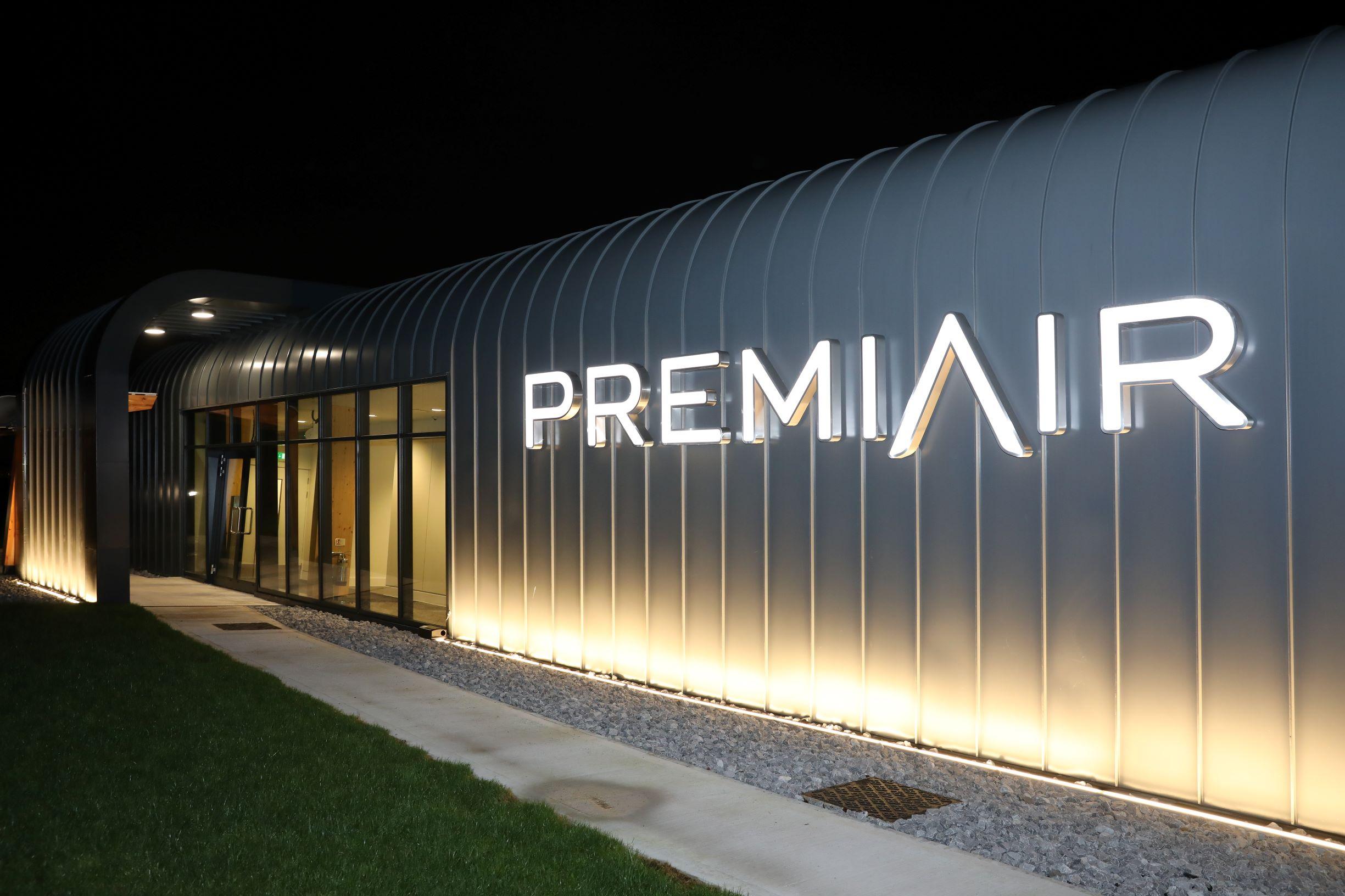 Manchester airport's PremiAir terminal