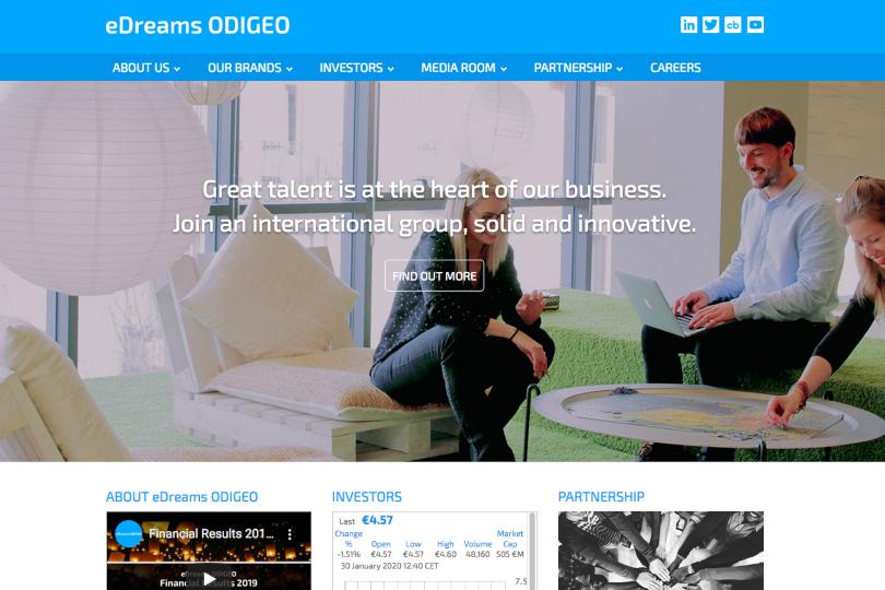 eDreams ODIGEO acquires Waylo hotel booking platform