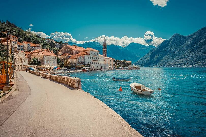 Montenegro is among Indulgent Escapes' new additions