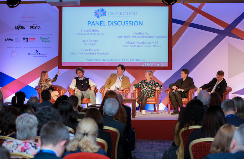 A panel discussion at UKinbound's 2020 Convention chaired by TTG Media's Daniel Pearce