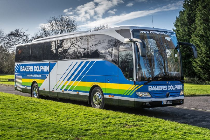 Bakers Dolphin arranged a coach at short notice for the kids