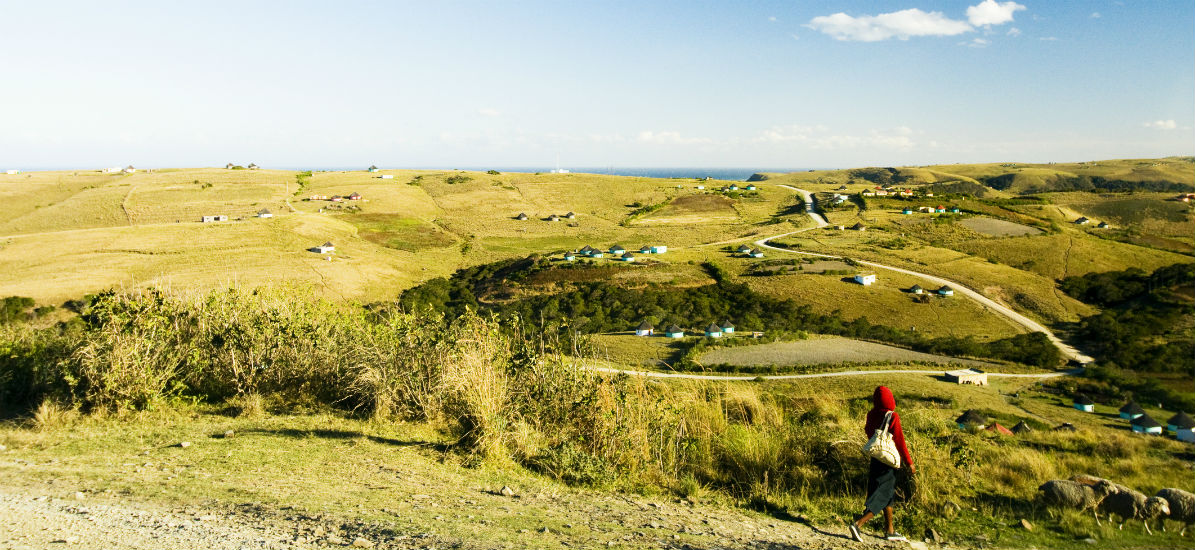 Mthata, Transkei in the South African Wild Coast