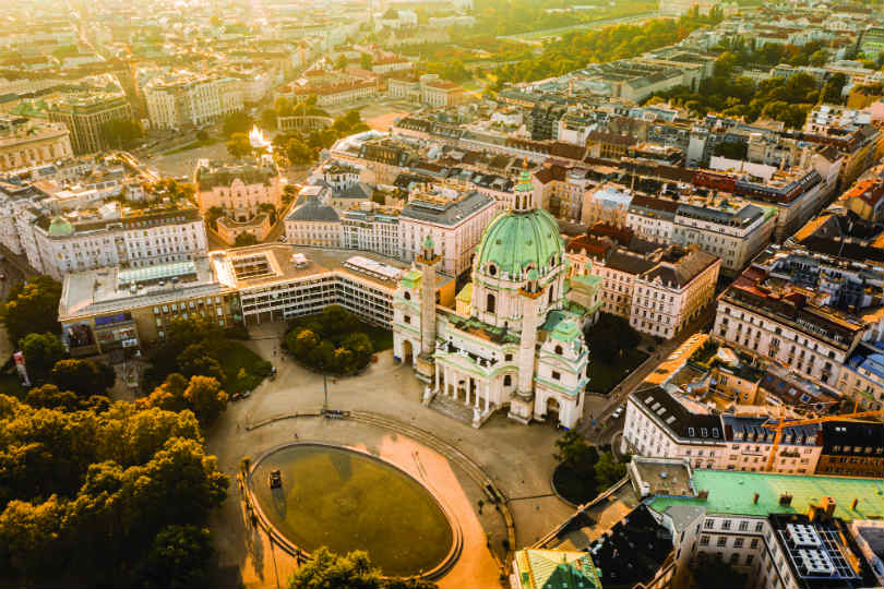 Austrian Airlines has launched flights from Birmingham to Vienna