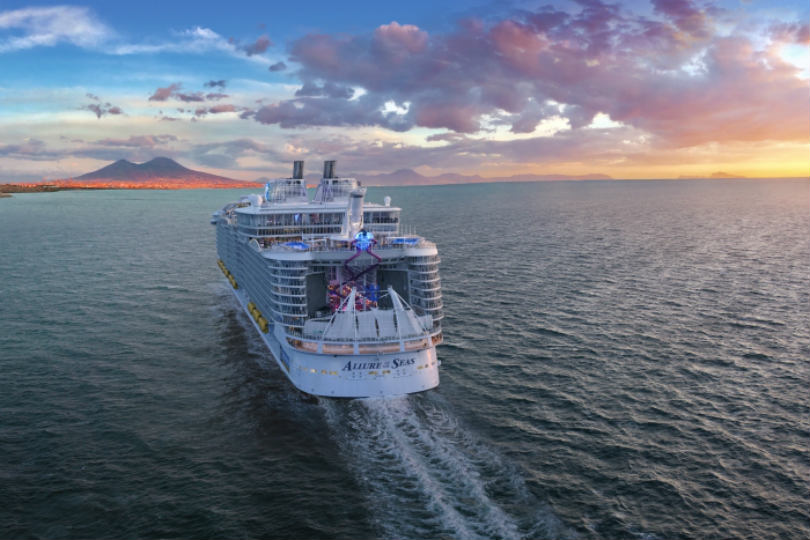 Allure of the Seas' trade sailing will go to Barcelona