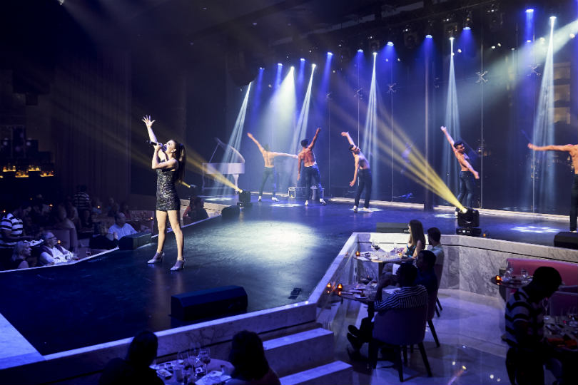 Chic Cabaret at the TRS Coral Hotel in Costa Mujeres, Mexico