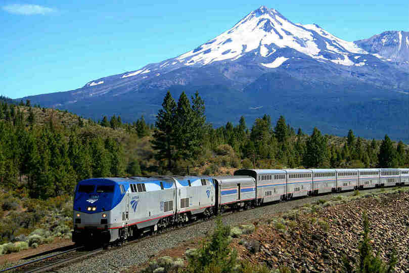 Railbookers can put together rail journeys around the world, including Amtrak in the US