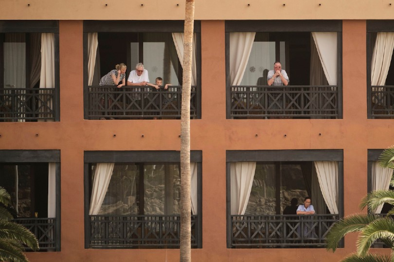 Guests have been told to remain at the hotel for 14 days (Credit: AP/Shutterstock)