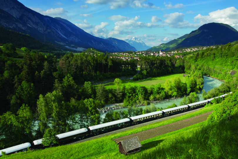 Spectacular scenery is one of the top selling points of a rail-based trip