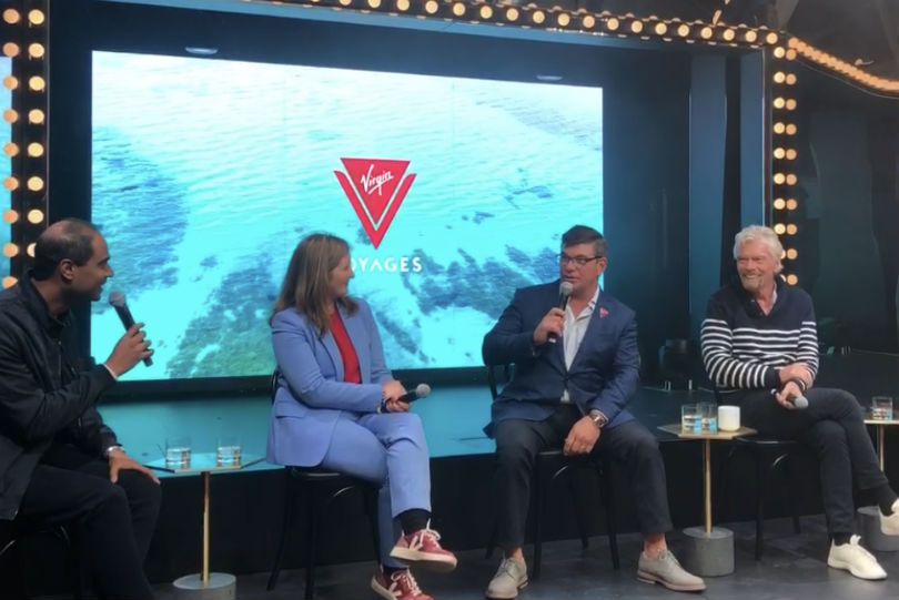 Virgin Voyages CEO: Scarlet Lady will be the first ship to be carbon neutral