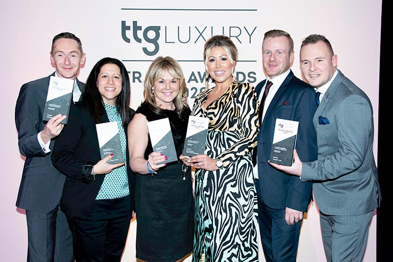 All agent category winners at TTG Luxury Travel Awards
