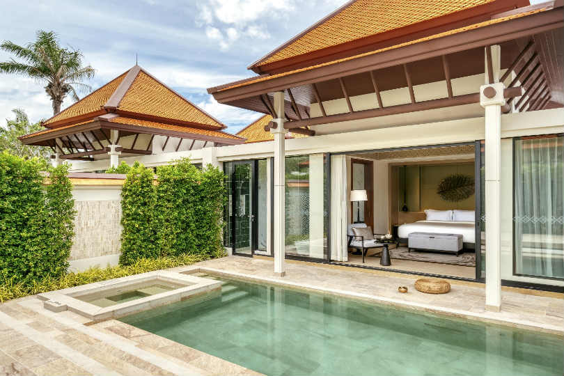 Banyan Tree Wellbeing Sanctuary features 12 pool villas