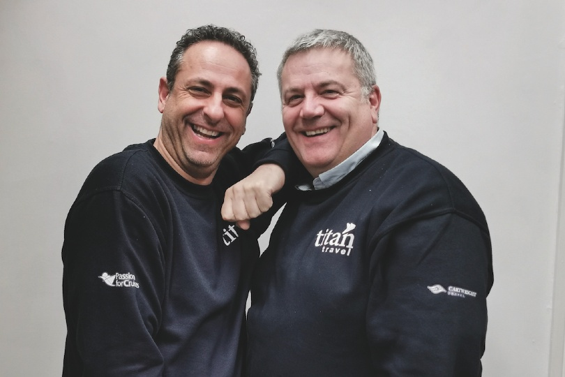 Cartwright Travel directors Steve Philippou and Steve Cartwright