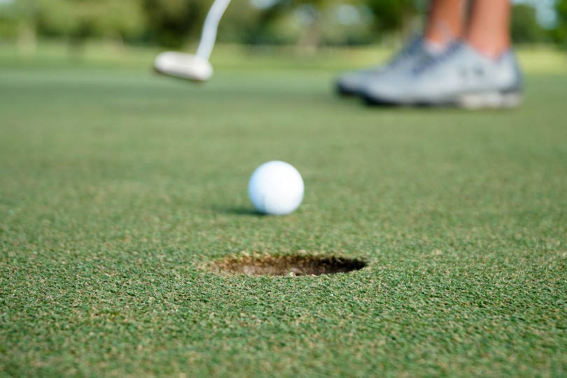 ITT's charity golf day will be held on 13 October (Credit: Thomas Park / Unsplash)