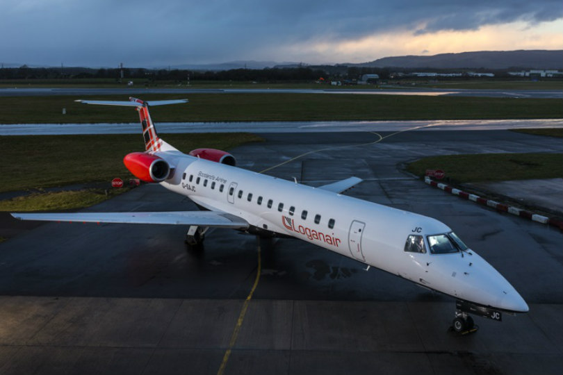 Loganair is taking on Flybe's Exeter-Newcastle route