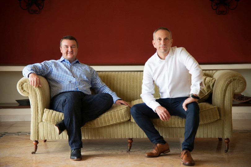 "Co-founder Paul Harrison (left) said Covid had given the company ""a new vision for a new future"""