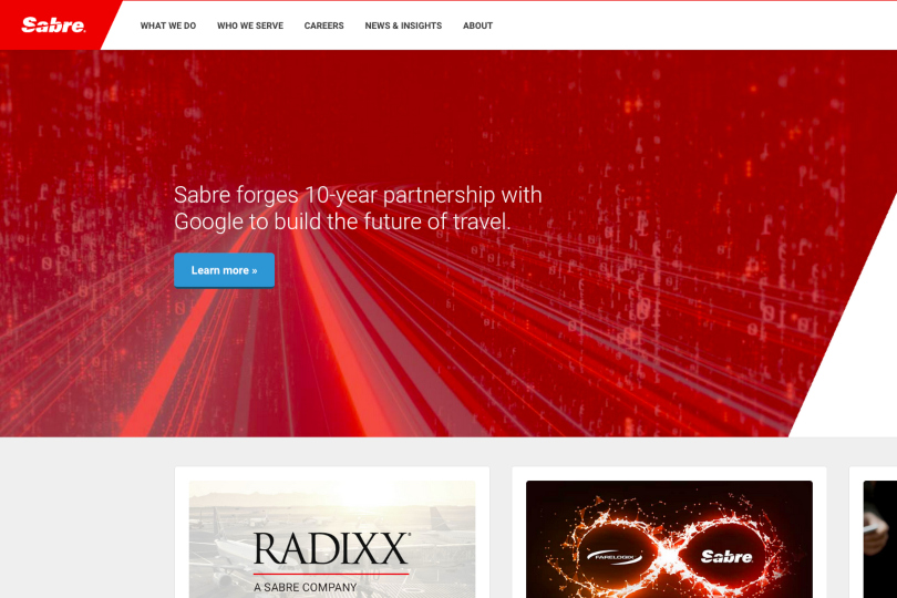 Sabre vies for market share growth