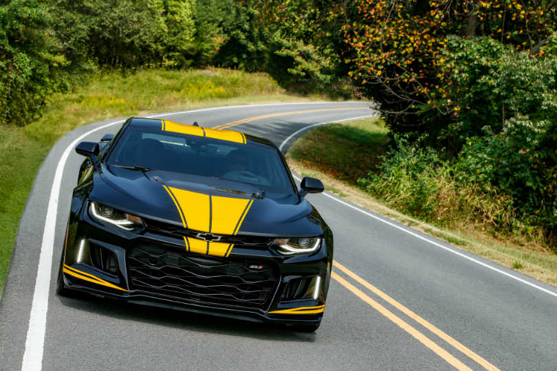 Hertz is offering muscle cars, designed with custom wheels and interiors