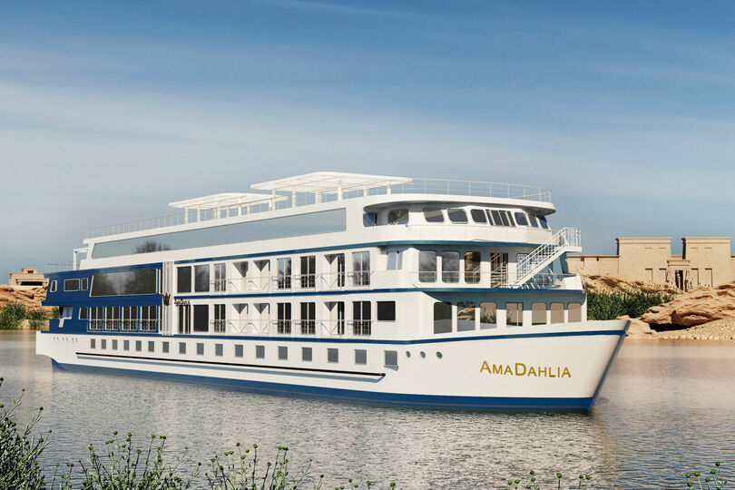 AmaWaterways returns to Egypt's Nile for 2021