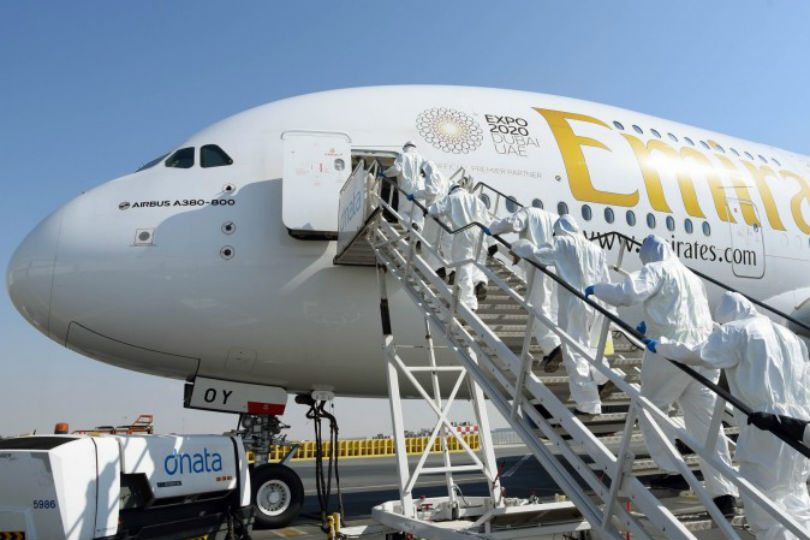 Emirates has introduced enhanced cleaning and disinfection of all aircraft from Dubai