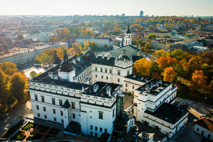 Shining a spotlight on historic city-break destination Vilnius