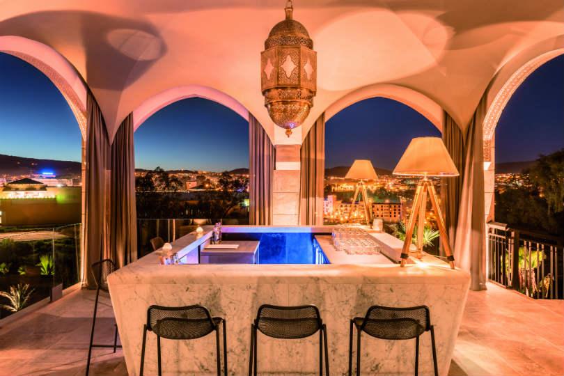 Hotel Sahrai in Fez. (Credit: Klaus Mellenthin)