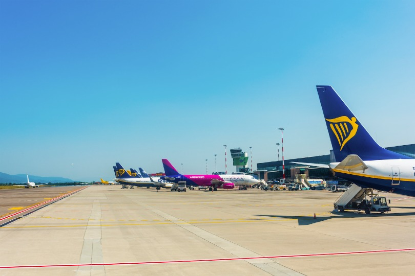 Ryanair and Wizz Air's April traffic has been all-but wiped out