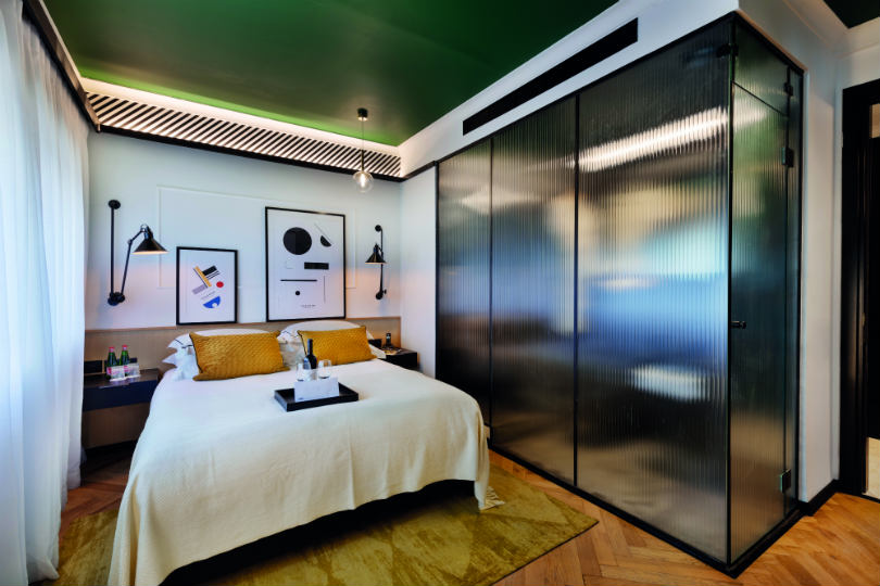 A room in the Theodor by Brown Hotels in Tel Aviv