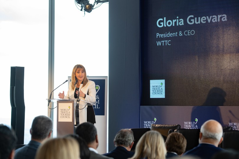 "WTTC's Gloria Guevara said restoring ""consumer and employee confidence"" was key to recovery"