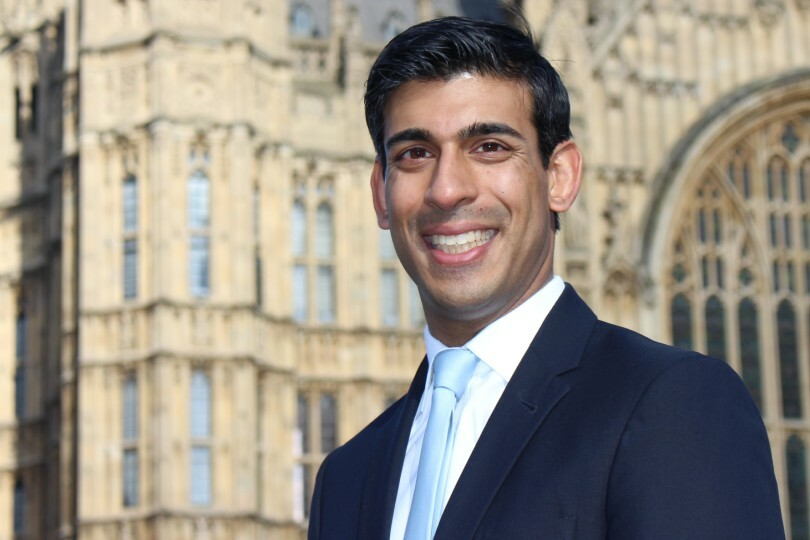 Rishi Sunak, chancellor of the exchequer. (Credit: HM Treasury)