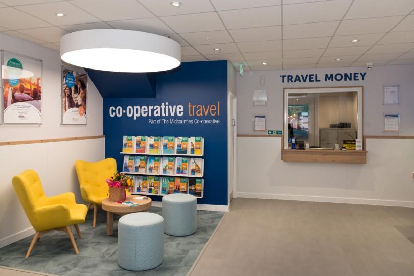 The Ilkeston branch of Co-op Travel