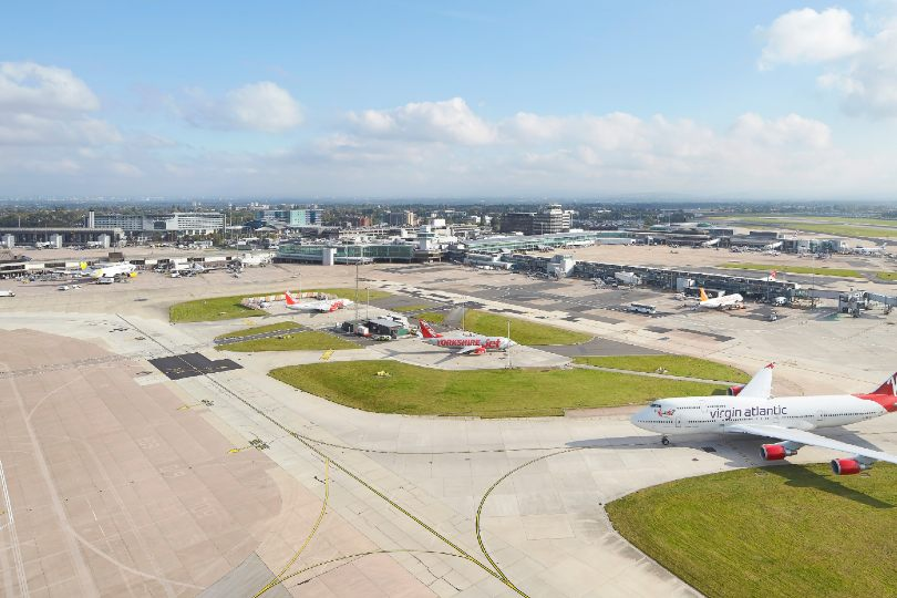 Manchester airport is temporarily closing Terminals Two and Three (Credit: Hufton and Crow)