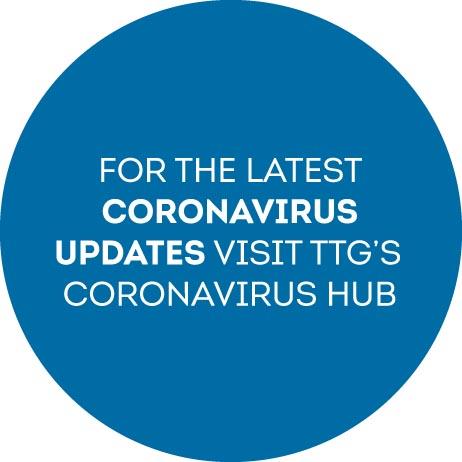 Coronavirus hub stamp