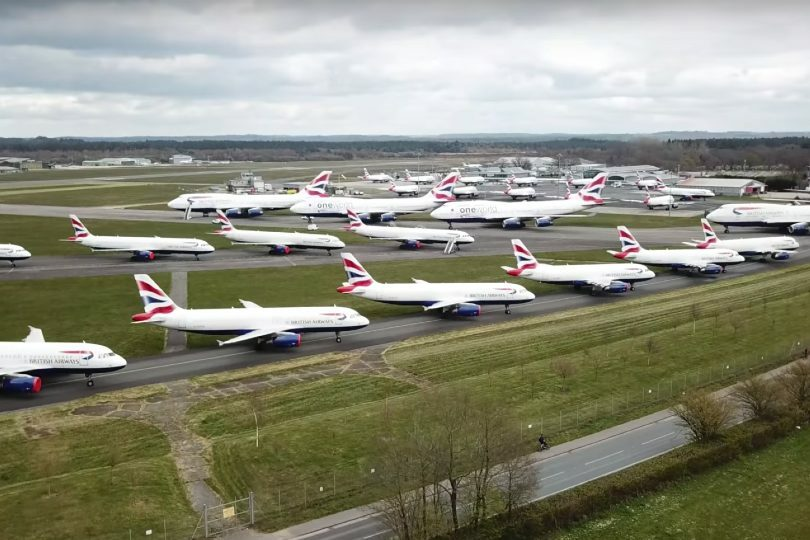 IAG needs funds to offset the cost of grounding its fleets during the pandemic