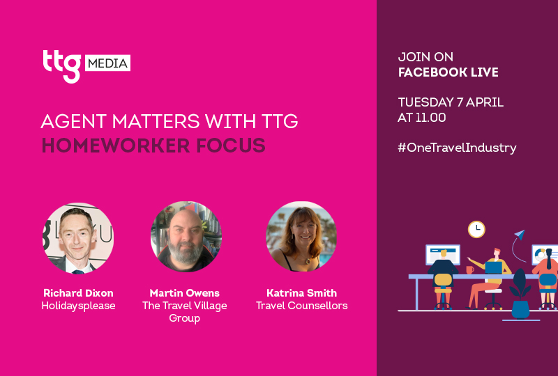 Tune in for TTG's first weekly Agent Matters panel