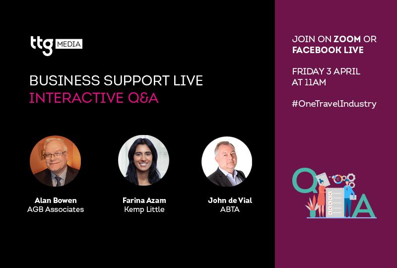 TTG Business Support Live session 2