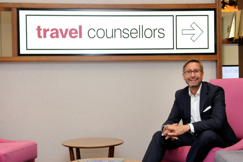 Travel Counsellors' chief executive Steve Byrne