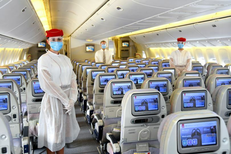 Emirates crews will be wearing PPE