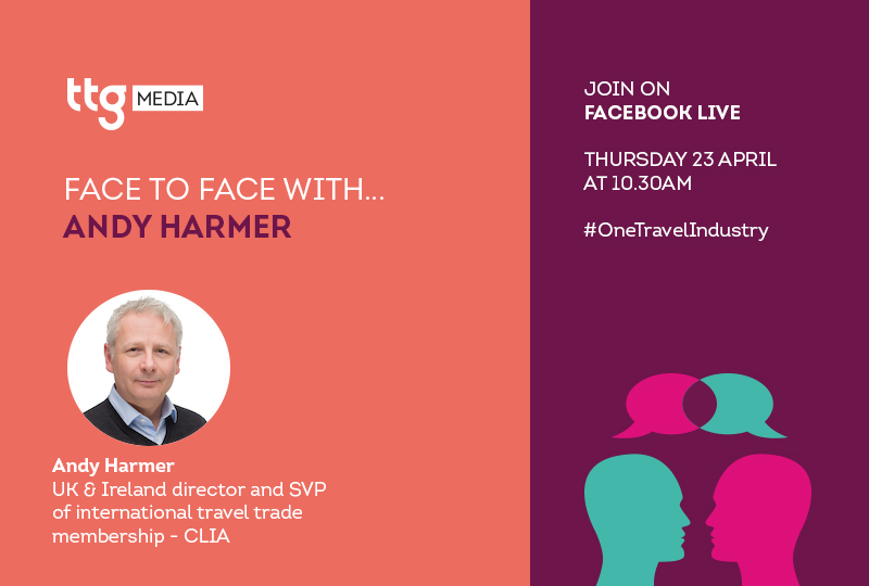 Clia's Andy Harmer to feature in next Face-to-Face interview