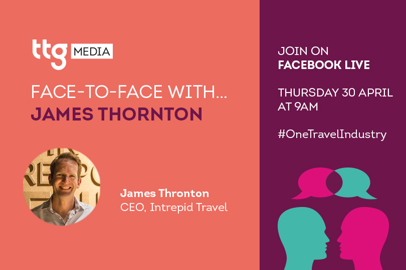 Intrepid Travel's James Thornton to join TTG Face to Face