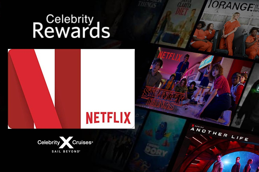 Celebrity Cruises launches Netflix incentive for agents