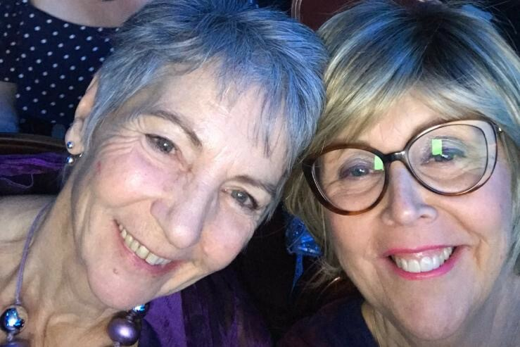 Kate Harris (right) has agreed to temporarily manage Southern Cross Travel after co-founder Penny Bones passed away
