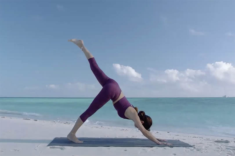TTG Digital Destinations Festival: yoga class live from Queensland