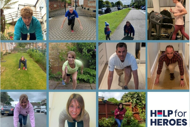 The team will cover more than 3,000km this month to raise cash for charity
