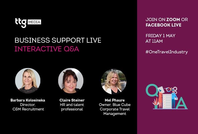 Join TTG's HR and staffing-focused Business Support Live