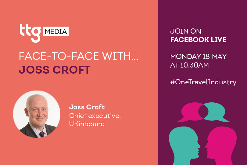 UKinbound chief Joss Croft to join TTG Face To Face