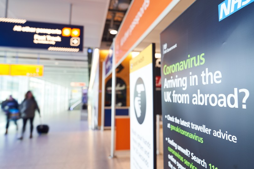 Arrivals into England and Scotland will have to provide evidence of a negative pre-travel Covid test